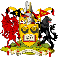 Aberystwyth's Official Coat of Arms